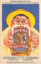 adv001214 - Biere Du Lion Beer Adverting Postcard Post Card