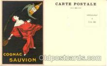 adv001261 - Cognac Sauvion Advertising Postcard Post Card