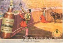 adv001264 - Bull Fighting Advertising Postcard Post Card