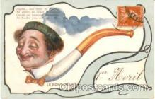 adv001266 - Smoking, Advertising Postcard Post Card