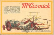 adv001273 - McCormick Tractors Advertising Postcard Post Card