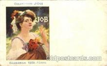adv001306 - Job Cigarette Advertising Artist P. Gervais Postcard Post Card