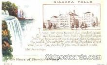 adv001312 - Shredded Wheat, Niagara Falls, Advertising Postcard Post Card