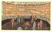 adv001316 - Havana Cigars, Advertising Postcard Post Card
