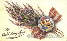 adv001337 - For Auld Lang Lyne, Advertising Postcard Post Card