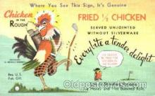 adv001342 - Chicken in the Rough Restaurant, Advertising Postcard Post Card