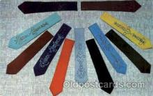 adv001343 - Hand Painted Ties by Dorothy Ricckard, Mears, Michigan, USA Advertising Postcard Post Card