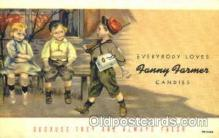 adv001356 - Fanny Farmer Candies, Advertising Postcard Post Card