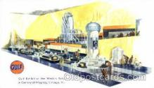 adv001374 - Gulf at the World Fair, Chicago, Ill. USA, Advertising Postcard Post Card