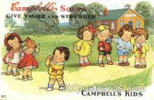 adv001375 - Cambells Soups, Advertising Postcard Post Card
