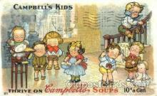 adv001376 - Cambells Soups, Advertising Postcard Post Card