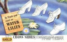 adv001394 - Red Cross Shoes, Advertising Postcard Post Card