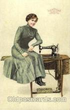 adv001402 - Free Sewing Machine Co. , Advertising Postcard Post Card