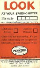 adv001415 - Pennzoil, Anderson Oil Co. , Advertising Postcard Post Card