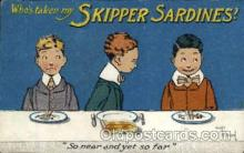 adv001457 - Skipper Sardines Advertising Postcard Post Card
