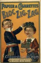 adv001468 - Bloc Zig Zag Advertising Postcard Post Card