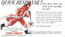 adv001491 - Texaco, Fire Chief Advertising Postcard Post Card