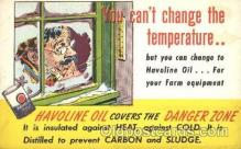 adv001494 - Havoline Oil Advertising Postcard Post Card