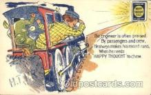adv001529 - Chewing Tobacco, Happy thought Advertising Postcard Post Card