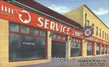 adv001539 - Loeber, Pontiac, Car Service, Chicago, Ill USA Advertising Postcard Post Card