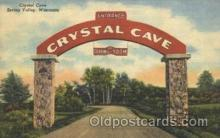 adv001558 - Crystal Cave, Spring Valley, Wisconsin, USA Advertising Postcard Post Card