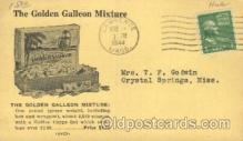 adv001567 - The golden galleon mixture Advertising Postcard Post Card