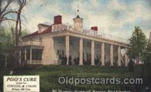 adv001576 - Mt. Vernon. USA Home of George Washington Advertising Postcard Post Card