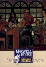 adv001644 - Maxwell House Master BlendAdvertising Post Card Post Card