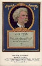 adv001657 - Mark Twain Advertising Post Card Post Card