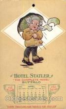 adv001658 - Hotel Statler Buffalo USA Advertising Post Card Post Card