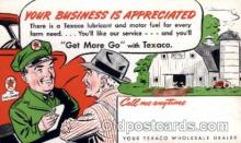 adv001685 - Texaco Service Station Advertising Post Card Post Card