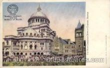 adv001724 - New Christian Science Church Advertising Post Card Post Card