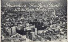adv001747 - Shawaker's The Lace Store Columbus, Ohio OH USAAdvertising Post Card Post Card