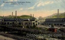 adv001759 - National Carbon Co. Washington Works Clarksburg, West Virginia WV USA Advertising Post Card Post Card