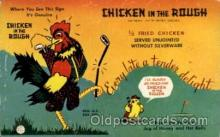 adv001762 - Chicken in the Rough 100 dollar prize card Advertising Post Card Post Card