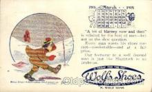 adv001788 - Wolf's Shoe's Advertising Post Card Post Card