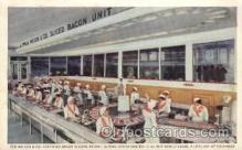 adv001802 - Wilson & Co. Certified Bacon Slicing Exhibit, Worlds Fair Advertising Post Card Post Card
