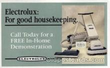 adv001809 - Electrolux Advertising Post Card Post Card