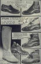 adv001823 - Chaussures Michel  Advertising Postcard Post Card