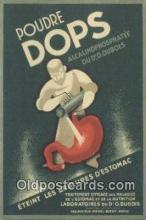 adv001832 - Poudre Dops  Advertising Postcard Post Card