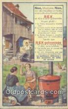 adv001840 - Rex Galvanisee Advertising Postcard Post Card