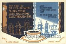 adv001855 - Rien Nest Tel Que Loeil Du Maitre Advertising Postcard Post Card
