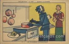 adv001864 - Le Policeman Automatique Advertising Postcard Post Card