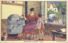 adv001866 - Machine A Laver Eve Advertising Postcard Post Card