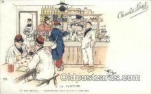 adv001883 - A LA Cantine Advertising Postcard Post Card