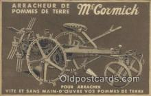 adv001884 - Arracheur De Pomes De Terre, McCormick Advertising Postcard Post Card