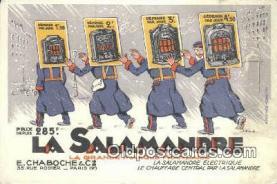adv001885 - La Salamandre Advertising Postcard Post Card