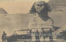 adv001888 - Sphinx 1919, Fiat 128 2 Door Sedan on Back of card Advertising Postcard Post Card