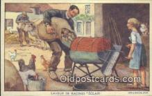 adv001897 - Laveur De Recines Éclair Advertising Postcard Post Card