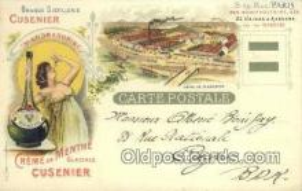 adv001902 - Grande Distllerir Cusenier Advertising Postcard Post Card